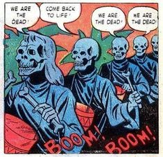 Out Of Context Comic Panels: Boners, Dicks & A Gay Old Time - Who doesn't love the hilarity of vintage comic book panels, taken out of the context of their historical period. Old Comics, Vintage Comics, Funny Comics, Arte Horror, Horror Art, Comic Books Art, Comic Art, Pop Art Vintage, Comic Frame