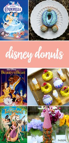Make your little ones' dreams come true with Disney donuts. Be our guest and check out this list of magical donut recipes you and your family can make while watching your favorite Disney films — from Cinderella Donuts and Beauty and the Beast Donuts to Tangled Donuts.
