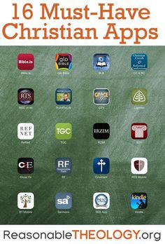 16 Must-Have Christian Apps Here are 16 of the best Bible, theology, sermon, and apologetics apps for Christians to turn their tablets into a virtual seminary Christian Apps, Christian Life, Christian Quotes, Christian Resources, Bible Scriptures, Bible Quotes, Beautiful Words, Adonai Elohim, 5 Solas