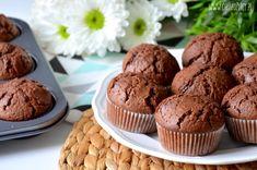 Babeczki czekoladowe Keto Recipes, Cake Recipes, Dessert Recipes, Cooking Recipes, Desserts, Cheesecake Pops, Cooking Time, Love Food, Breakfast Recipes