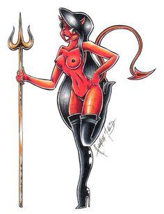 Hot devil girl fantasy nude, romantic stories nudist