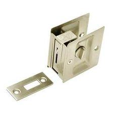 Privacy Circular Sliding Cavity Door Lock | Doors, Door handles and ...
