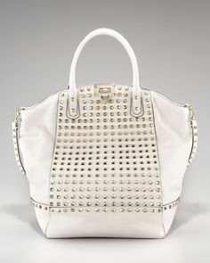 """All Over Rockstud New Dome by Valentino at Bergdorf Goodman. Can you say """"probably expensive?"""" =["""