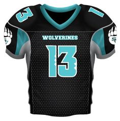 02a8c37c4e5 Youth Custom Tackle Twill Football Jerseys - All Pro Team Sports
