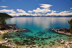 23 of the bluest, clearest waters on the planet <3 #LakeTahoe