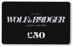 Wolf & Badger - Gift Card £50