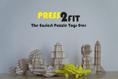 #1 Puzzle Toys By Press2Fit - Easy & FastTo Make | Indiegogo