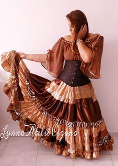 Boho Hippie, Flamenco Skirt, Dress Skirt, Dress Up, Gypsy Women, Up Costumes, Estilo Boho, Gypsy Soul, Skirt Fashion