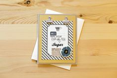 Cup of Tea Masculine Card by Carson R.