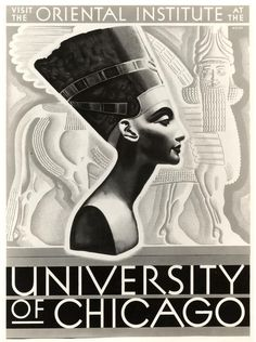 Poster, Oriental Institute, University of Chicago. Archival Photographic Files, apf2-05512, Special Collections Research Center, University of Chicago Library.