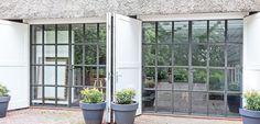 IJzeren, metalen, stalen deuren en ramen van Sier- en Kunstsmederij Rein Tupker - IJzerendeuren.nl