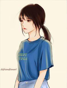 回MoonLight 🌙 on - Gfriend Yuju fanart - Cool Anime Girl, Beautiful Anime Girl, Kawaii Anime Girl, Anime Art Girl, Manga Girl, Cute Girl Drawing, Cartoon Girl Drawing, Girl Cartoon, Pandaren Monk