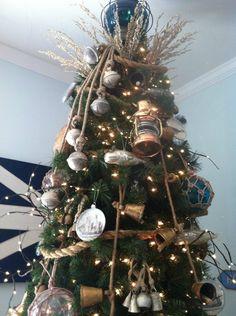 Coastal Home: How to guide: Coastal Christmas tree decoration
