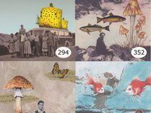 5er Postkarten-Set, 5 postcard bundle