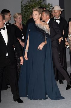 The Prince and Princess of Monaco Host Global Ocean Gala — Royal Portraits Gallery - Source by - Style Royal, Royal Look, Monaco Princess, Prince And Princess, Katy Perry, Monte Carlo, Fürstin Charlene, Orlando, Royal Families Of Europe