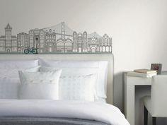 White, sophisticated room. | More Dorm Room Decorating Ideas & Decor Essentials from HGTV >> http://www.hgtv.com/design/decorating/design-101/20-chic-and-functional-dorm-room-decorating-ideas-pictures?soc=pinterest