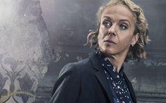 Herunterladen hintergrundbild sherlock, 2017, mary watson, amanda abbington, britische schauspielerin