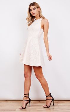 Alice Skater Dress With Beautiful Details - SilkFred
