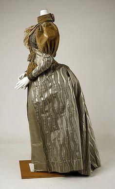 Dress Date: ca. 1894 Culture: probably American Medium: silk