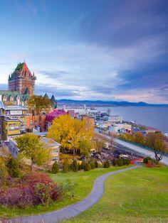Quebec, Canada - Montmorecy Falls, Plains of Abraham, L'Avenue D'Art - all good!! #quebeccity