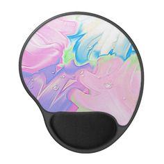 Mousepad Soft pastell bunt abstrakt