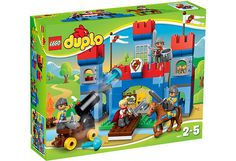 Great deals on Lego Duplo trains, helicopters, fire stations and much more at Smyths Toys. Get your kids building Lego with Duplo! Shop Lego, Buy Lego, Toys R Us, Kids Toys, Legos, Lego Ritter, Lego Duplo Town, Lego Knights, Building Blocks Toys