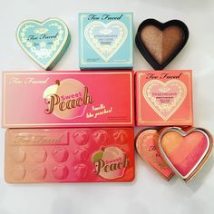 Too Faced Cosmetics Summer 2016 Collection - Sweet Peach eyeshadow palette \\ pinterest; ➽➽➽ @guccinutella ⊿❣❈