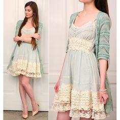 Got A Date Mint Dress - Chicwish