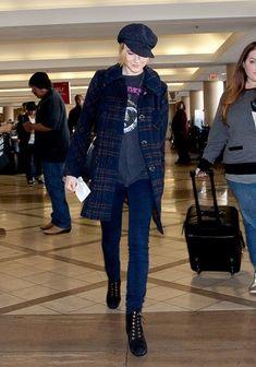 Evan Rachel Wood - Evan Rachel Wood at LAX