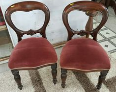 Bustle Back Chairs