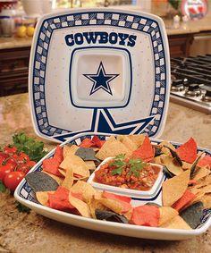 Love this Dallas Cowboys Game Day Chip 'n' Dip on #zulily! #zulilyfinds
