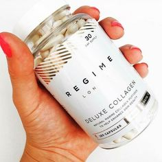 Enhance your skins natural beauty with our Deluxe Collagen capsules.  Shop by clicking the link in the bio @regimelondon or go to www.Regime.London  - - -  #regimelondon #london #gold #floral #londonlife #fruity #whitespace #quote #glittery #bblogger #blackandwhitelondon #quoteoftheday #supplements #instadaily #instagood #instalike #happy #luxurylife #glitter #gold #blogger #glowing #healthy #travel #sparkle #skin #skincare