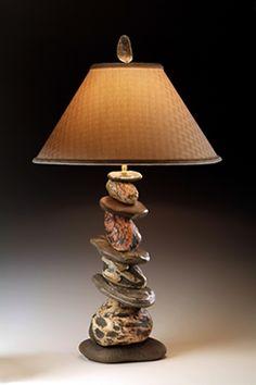 Rockin' K Stoneworks - Stone Lamps By Kevin Kaye