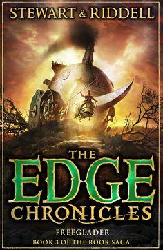 Freeglader, Book 3 of the Rook Saga #edgechronicles #chirsriddell #paulstewart