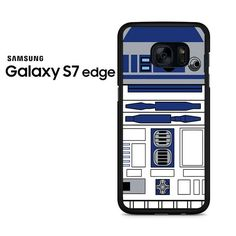 Star Wars R2d2 Blue Samsung Galaxy S7 Edge Case