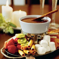 Wickedly Delicious Chocolate Desserts | Chocolate Fondue | SouthernLiving.com