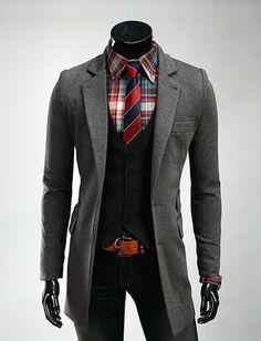 Classy Tailored Longline Blazer For Men Fashion