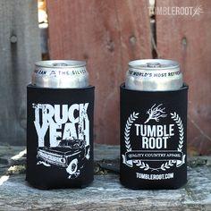 TumbleRoot Truck Yeah Koozie