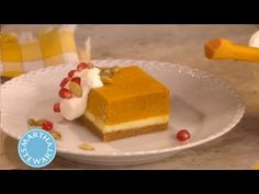 ▶ Pumpkin Mousse Cheesecake⎢Martha Stewart - YouTube
