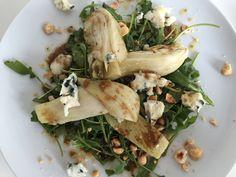 Roasted fennel, blue cheese hazel nut salade