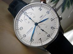IWC Portuguese Chronograph Automatic Men's Watch Model IW371417