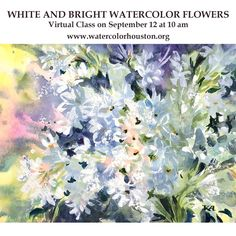 Do you love flowers but struggle to capture their beauty with watercolor? I have a solution - combine watercolor with gouache. Great results with only fraction of pain and frustration! I'll be teaching this technique during my live online class in partnership with @watercolorhouston but registration is closing tomorrow September 10. So hurry up to watercolorhouston.org/virtual classes or click the link in my bio and go to LIVE CLASSES. It will be fun! #tummyrubbstudio #artclass #artwork…