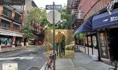 Street scene album covers in Google Maps - 08