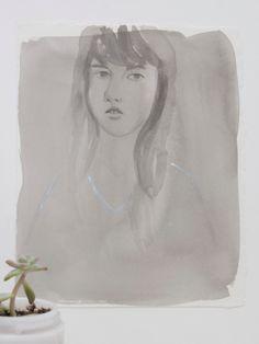 Orignal Painting - Hannah by Leah Goren via Etsy.