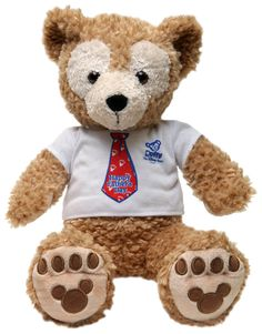 Duffy the Disney Bear Featuring New Father's Day Shirt