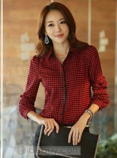 Luxury Stylish Long Sleeves Single Breasted Fancy Plaid Lapel Blouse : Tidebuy.comhttp://www.tidebuy.com/product/Luxury-Stylish-Long-Sleeves-Single-Breasted-Fancy-Plaid-Lapel-Blouse-10852857.html