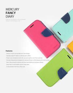 Fancy Diary Case - Mercury