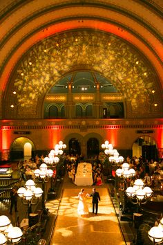union station wedding floor