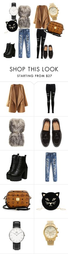 """#002"" by robynsrosee on Polyvore featuring moda, Miss Selfridge, PINGHE, MCM, Charlotte Olympia, Daniel Wellington e Michael Kors"