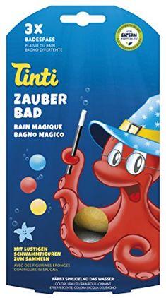 Preis:  Tinti Zauberbad 3er Pack (Badebälle in rot, blau, gelb)